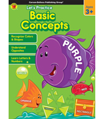 Let's Practice: Basic Concepts Activity Book Product Image