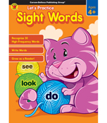 Let's Practice: Sight Words Activity Book Product Image