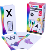 Letters & Numbers Flash Cards Product Image