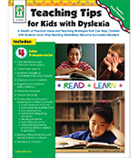 Teaching Tips for Kids with Dyslexia Resource Book Product Image