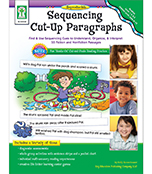 Sequencing Cut-Up Paragraphs Resource Book Product Image