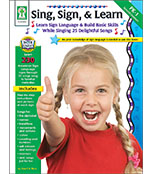 Sing, Sign, & Learn! Resource Book Product Image