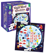 Sight Word Space Station Board Game Product Image