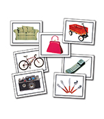Nouns: Everyday Objects Learning Cards Product Image