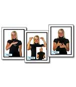 Sign Language in the Early Childhood Classroom Learning Cards Product Image