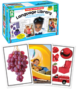 Early Learning Language Library Learning Cards Product Image