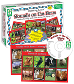 Listening Lotto: Sounds on the Farm Board Game Product Image