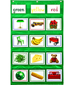 Learning Cards Pocket Chart Product Image