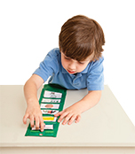 Portable Visual Schedule Pocket Chart Product Image