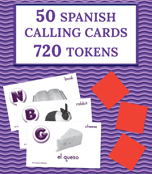 Español básico Basic Spanish: BINGO Board Game Product Image