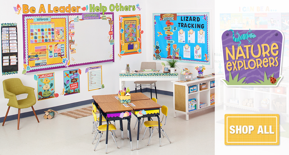 nature explorers classroom decorations