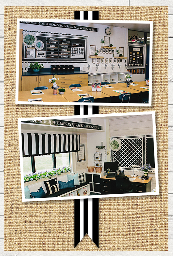 Industrial Chic Classroom Makeover Images