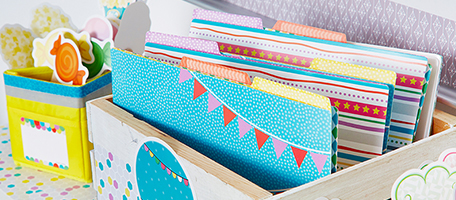 Up and Away File Folders