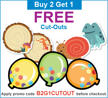 Buy 2 Get 1 Cut-Outs