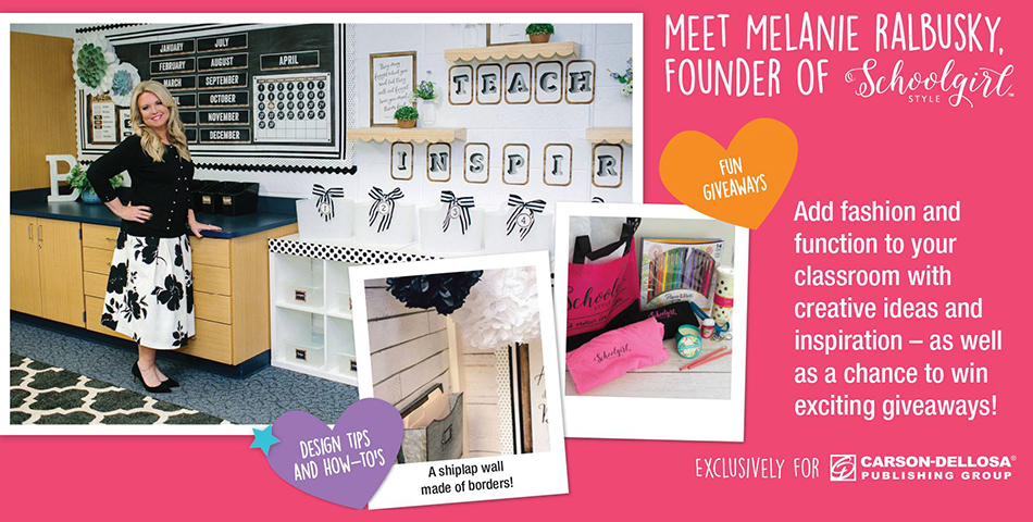 Add fashion and function to your classroom