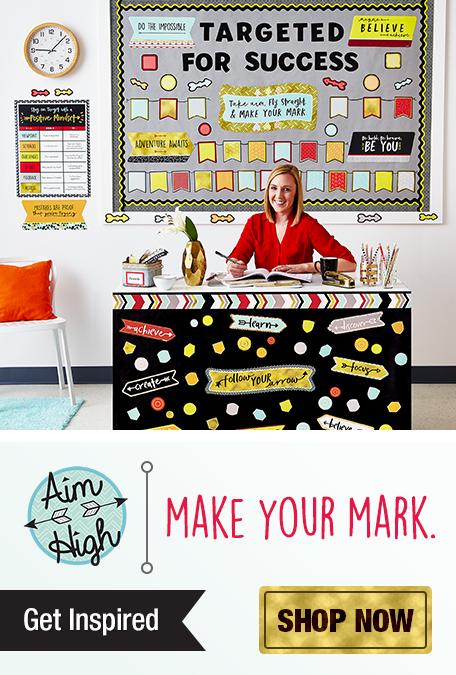Aim High Classroom Decorations